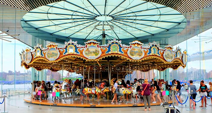 Jane's Carousel Brooklynissa - Karuselli