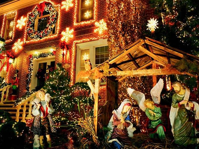 Dyker Heights Christmas Lights - Jouluseimi