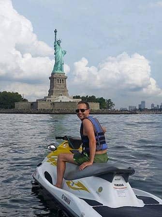 Vesijetti vuokraus New York - Vapaudenpatsas