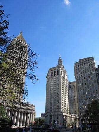 CitySights Hop on Hop off -bussit New Yorkissa - Downtown