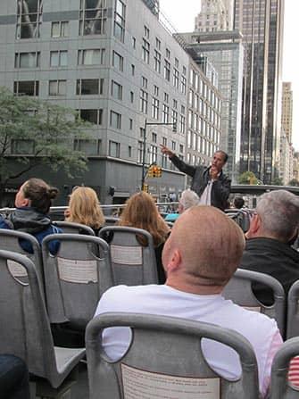 CitySights Hop on Hop off -bussit New Yorkissa - opas