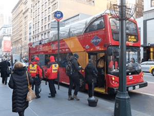 CitySightseeing Hop on Hop off -bussit New Yorkissa