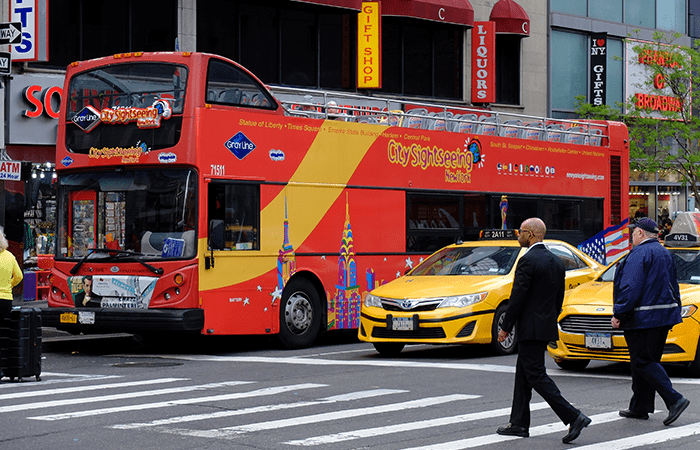 CitySightseeing Hop on Hop off -bussit New Yorkissa - Bussi