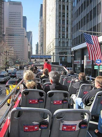 Gray Line Hop on Hop off bussit New Yorkissa - opas