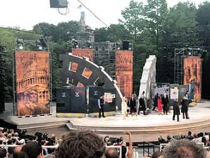Shakespeare in the Park New Yorkissa