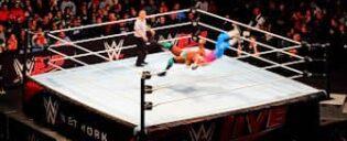 WWE paini liput New Yorkissa