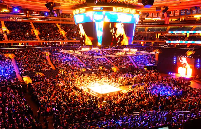 WWE paini-liput New Yorkissa - kilpailijat
