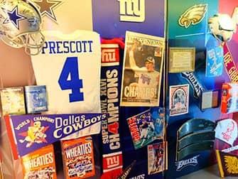 NFL Experience Times Square - esineita