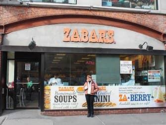 Klassikkoelokuvakierros New Yorkissa - Zabar's