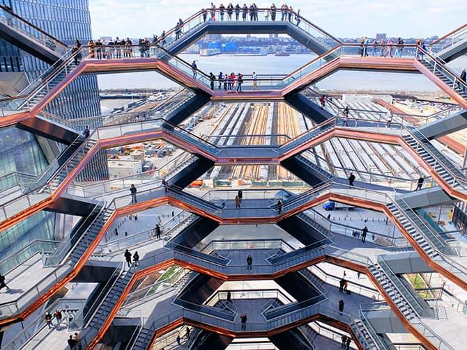 Hudson Yards Vessel New Yorkissa - Vessel näköala