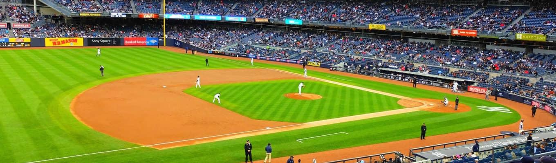 Baseball-ottelu: New York Yankees