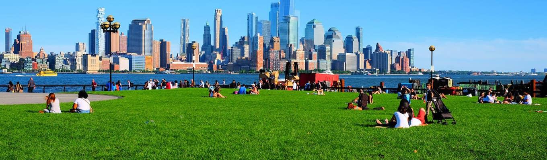 Kauneimmat puistot New Yorkissa