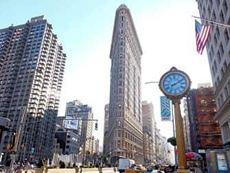 Supersankarit-kierros New Yorkissa - Flatiron Building