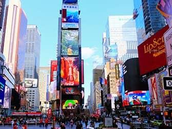 Supersankarit-kierros New Yorkissa - Times Square