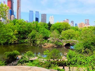 New York Sightseeing Flex Pass ja New York Explorer Pass -kaupunkipassien erot - Central Park