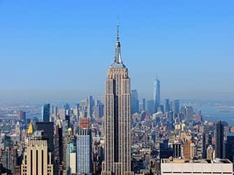 New York Sightseeing Flex Pass ja New York Explorer Pass -kaupunkipassien erot - Empire State Building