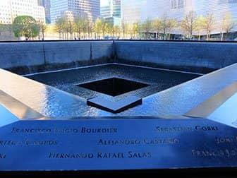 New York Sightseeing Day Pass ja New York Pass -kaupunkipassien erot - 9/11 Memorial