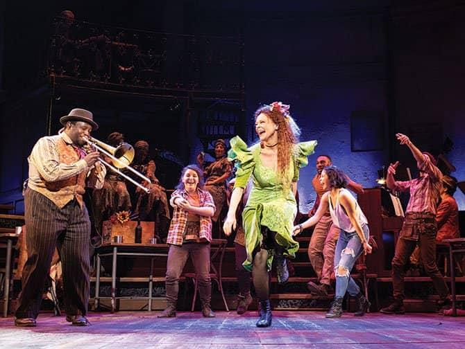 Hadestown Broadway-liput - Tanssia