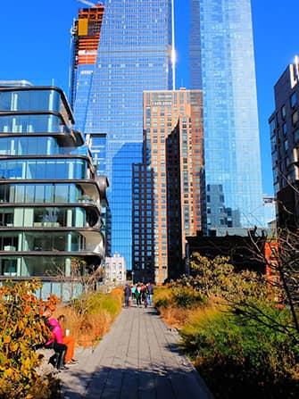 Yksityinen opastettu kierros New Yorkissa - High Line Park