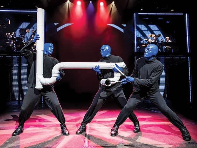 Broadway-musikaalit lapsille - Blue Man Group