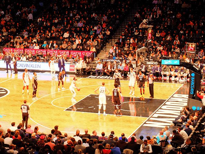 Otteluohjelma urheilu New Yorkissa - Brooklyn Nets