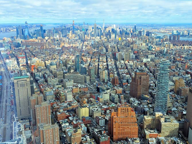 New York Sightseeing Flex Pass ja Sightseeing Day Pass -kaupunkipassien erot - One World Observatory