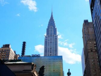 Chrysler Building New Yorkissa - Art deco -tyyli