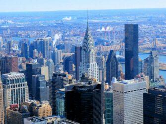 Chrysler Building New Yorkissa - Näkymä Chrysler Buildingiin